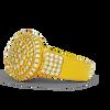 10K Yellow Gold Men's Diamond Ring 1.50Ctw