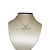 10K Yellow Gold Loyalty Pendant 0.60ct with Chain