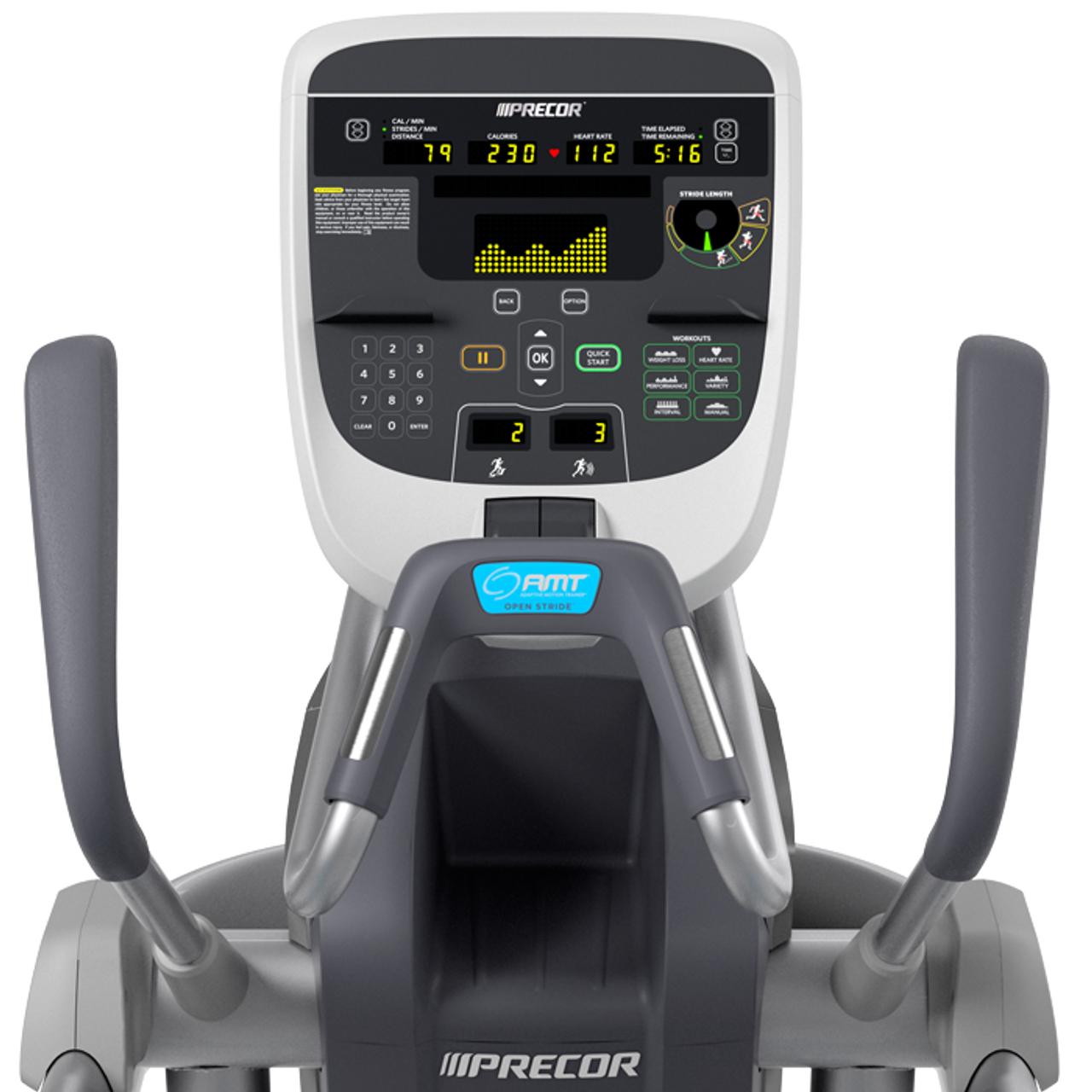Precor AMT 835 with Open stride