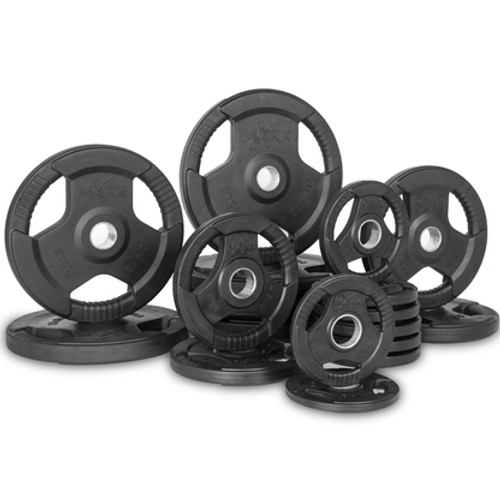 Rubber Coated Olympic Plates