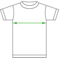 T-shirt body width