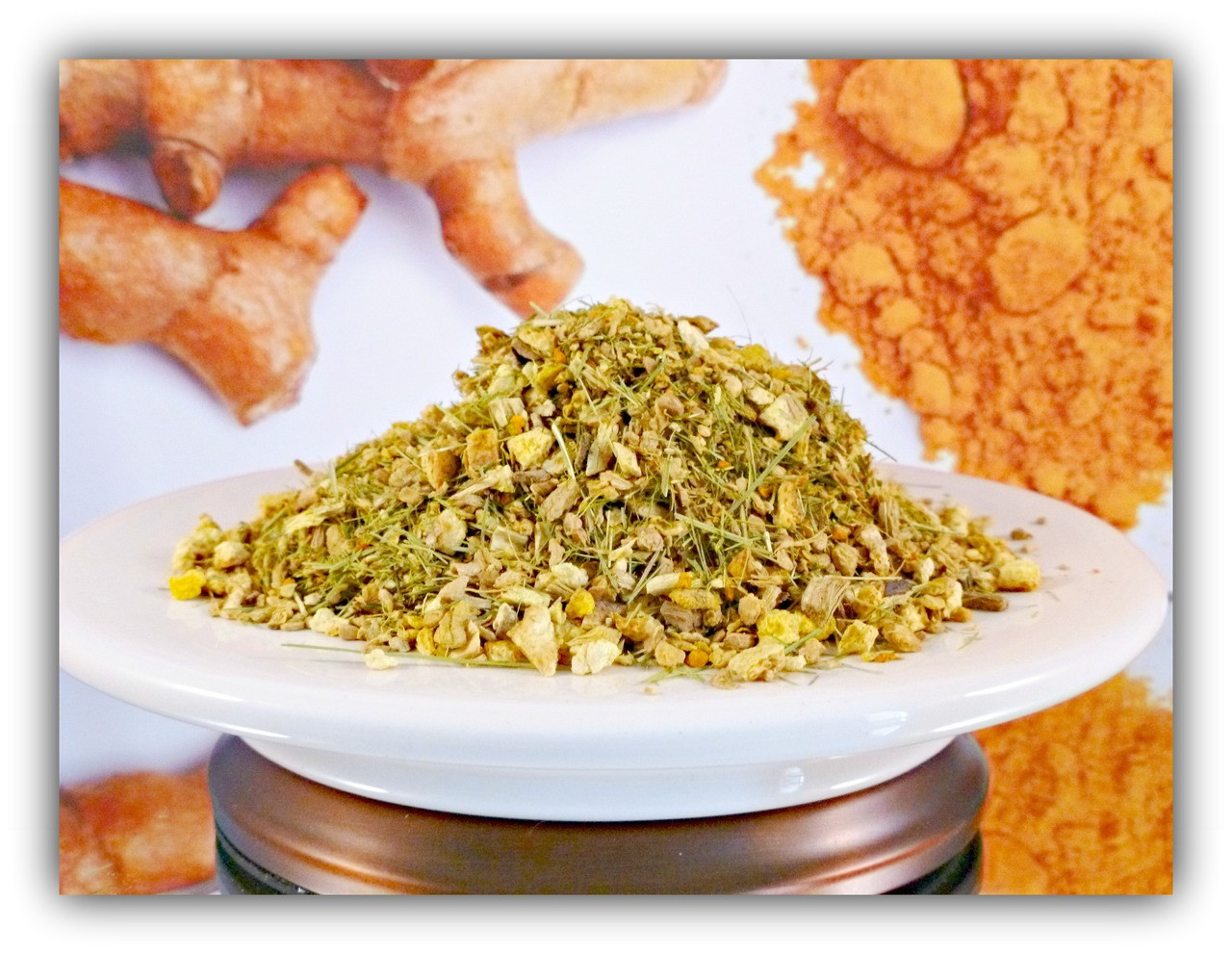Spice of Life Ginger Turmeric Tonic (ORGANIC) - 2 oz (56 g, approx  19 cups)
