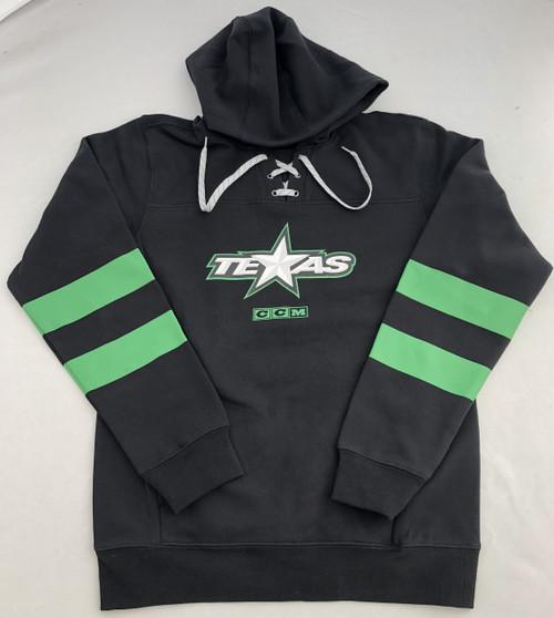 CCM Black Hockey Lace Hoodie