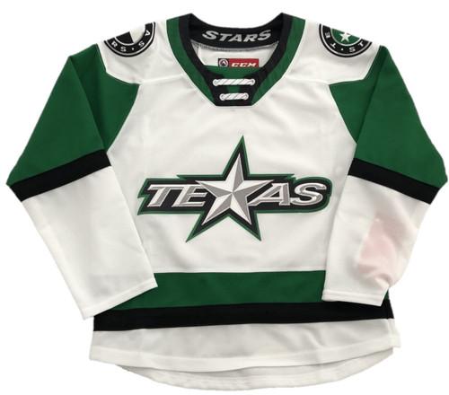 Stars White Youth Replica Jersey
