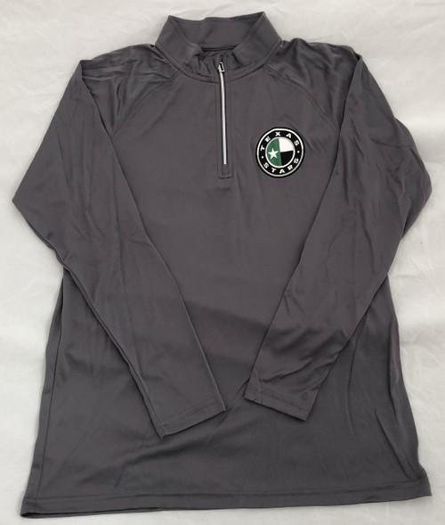 Youth Charcoal 1/4 Zip Jacket