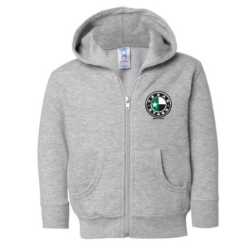 Grey Toddler Full-Zip Sweater