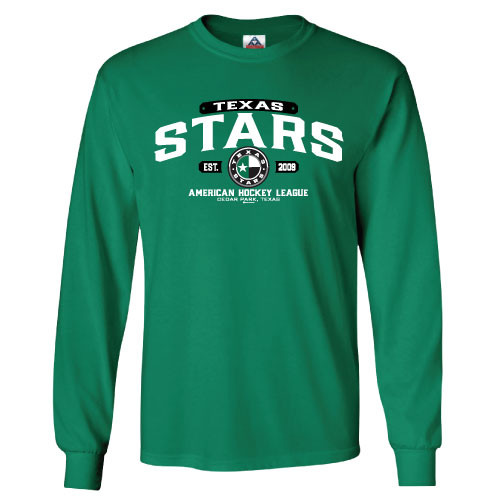 Green Stars Long Sleeve Tee