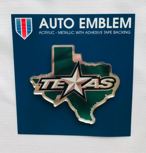Texas Stars Auto Emblem