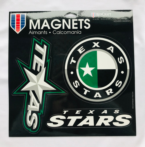 Texas Stars Magnet Sheet