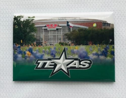 Texas Stars Refrigerator Magnet
