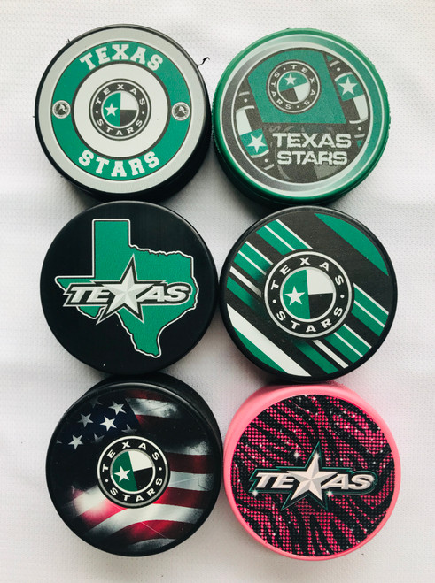 2019-2020 Texas Stars Pucks