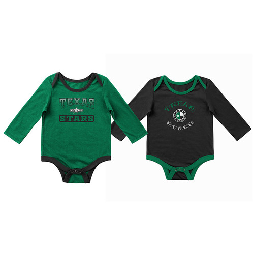 Green and Black 2- Pack Onesie