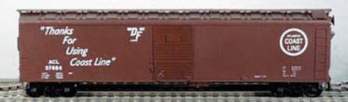 BOWSER HO 50 Foot Box Cars (Single Door) KIT  ACL  3-1510