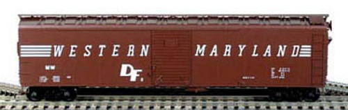 BOWSER HO 50 Foot Box Cars (Single Door) KIT   Western Maryland 3-1512