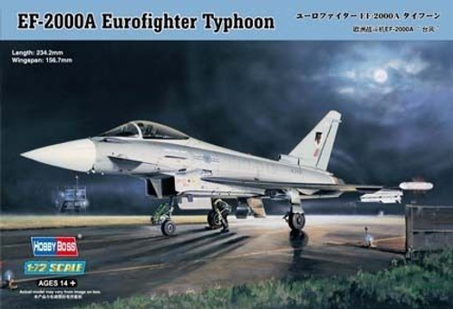 Hobby Boss 80264 1/72 EF-2000A Eurofighter Typhoon kit