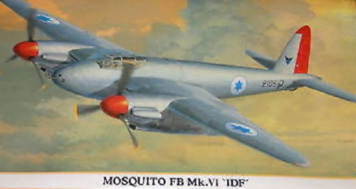 Hasegawa 1/72 MOSQUITO FB MK.VI 'IDF' kit 00739  OL1