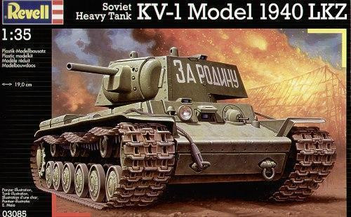1/35 scale Soviet KV-1 Model 1940 LKZHeavy Tank KIT RVLS3085 OL1