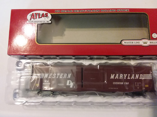 Atlas HO ACF 60' Single Door Auto Parts Boxcar Western Maryland Road 4959799