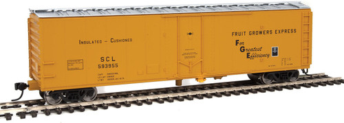 Ho Scale Walthers 50' PC&F Insulated Boxcar - Ready to Run -- Fruit Grower's Express SCL #594041