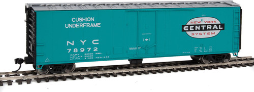 Walthers Ho 50' PC&F Insulated Boxcar - Ready to Run -- New York Central 78972