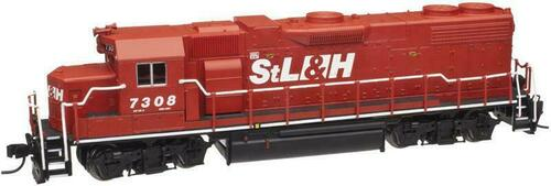 Atlas N Scale 40000650 GP38-2 With DCC StL&H #7308 St. Lawrence & Hudson