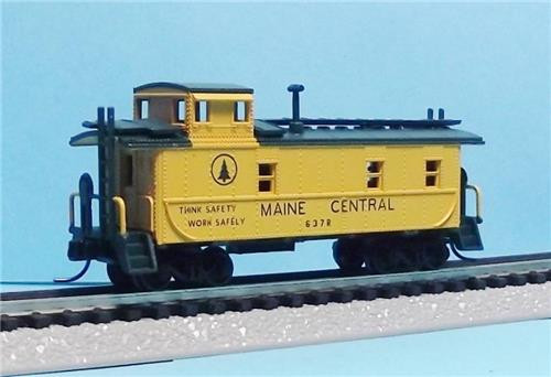 Atlas Trainman 50001391 Cupola Caboose Maine Central #637