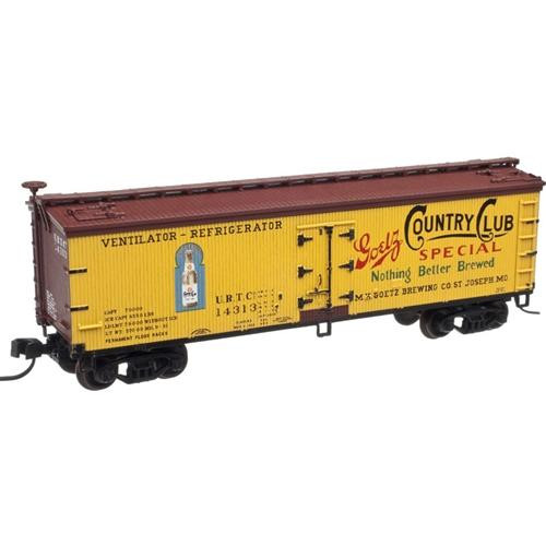 Atlas N 50001750 40' Wood Reefer Goetz Country Club Special #14312