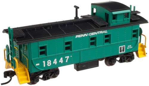 Atlas Trainman  N Cupola Caboose Penn Central #18447