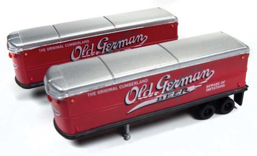 40's/50's Aero Van Trailers Old German Beer 2 pack