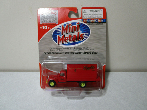 Classic Metal Works41/46 Chevrolet Delivery Truck - Stroh's Beer