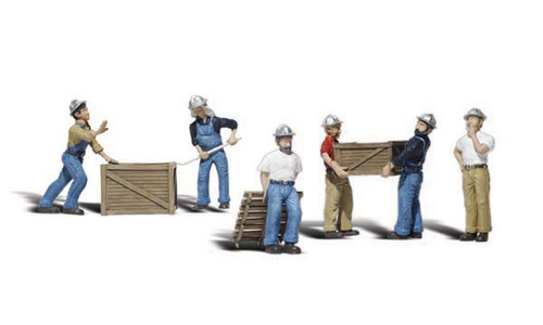 Woodland Scenics N - Dock Workers