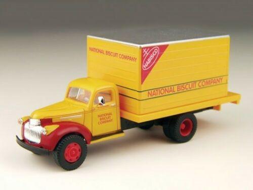 Classic Metal Works 30299 HO Mini Metals Nabisco Chevrolet Box Delivery Truck