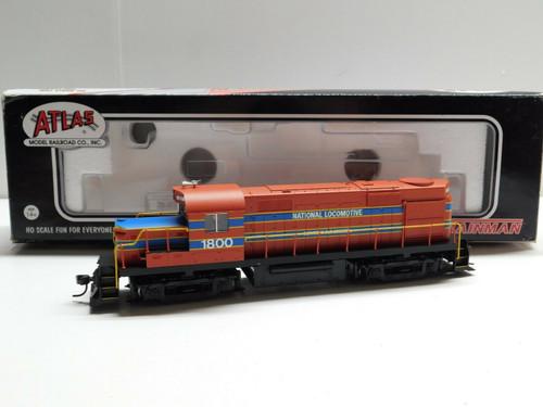 Atlas TM 10000954 HO RS36 National Locomotive Company #1800