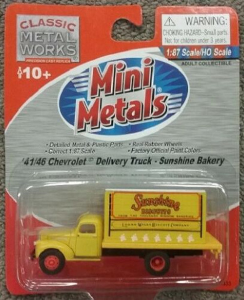 Classic Metal Works 41/46 Delivery Truck Sunshine Bakery