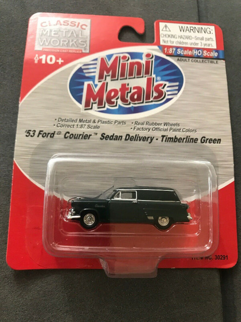 Classic Metal Works '53 Ford Courier Sedan Delivery Timberline Green