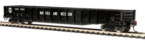 MTH HO 70T Mill Gondola Car Norfolk & Western #98860