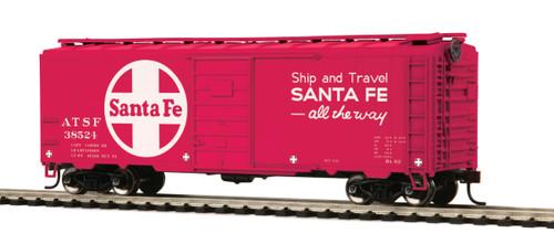 MTH HO 40' PS-1 Box Car Santa Fe #38524