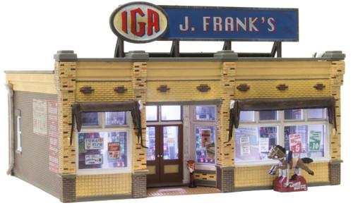 Woodland Scenics J. Frank's Grocery