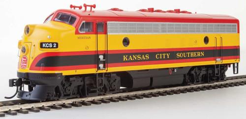 Walthers HO EMD F7A Locomotive Kansas City Southern #2