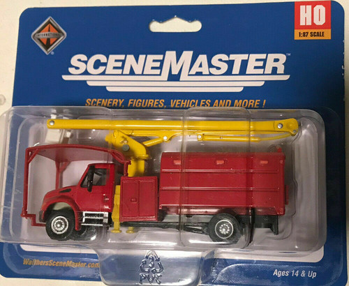 Walthers Scene Master HO International 4300 Tree Trimmer Truck