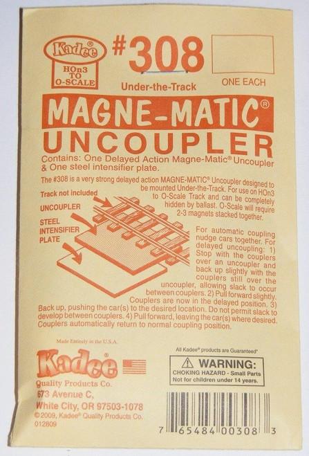 Kadee #308 ~ Under The Track Magne-Matic Uncoupler