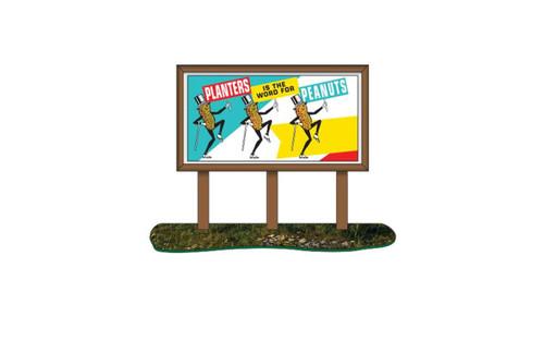 CMW N Country Billboard Planters Peanuts
