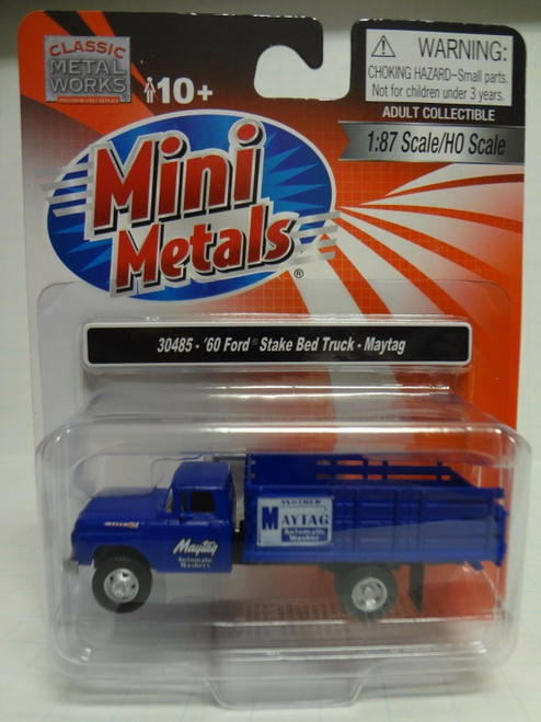 CMW 60' Ford Stake Bed Truck - Maytag