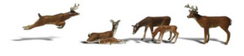 O Scale Woodland Scenics Deer  2738  OL 1