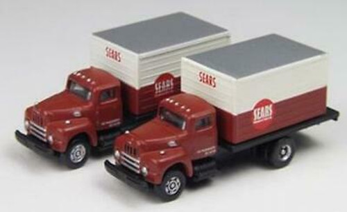 N Scale Mini Metals Sears  Light Delivery Trucks  50262   OL 1