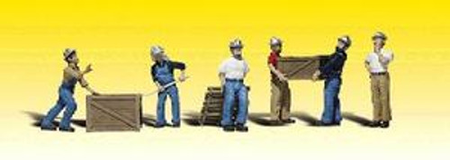O-Scale Woodland Scenics Dock Workers 785-2729  OL 1
