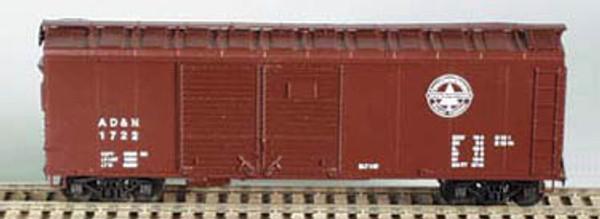 Bowser HO 40 Foot Box Cars (Double Door) KIT  AD&N