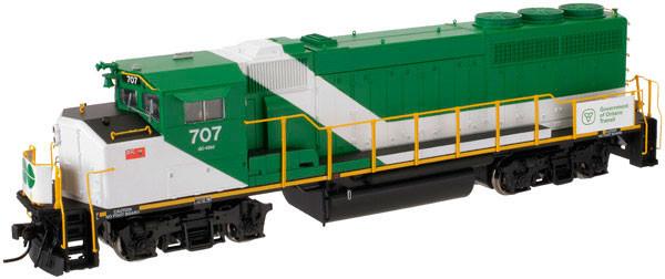 Atlas Master GO Transit GP40-2W Locomotive #706 - DCC with sound 10001422