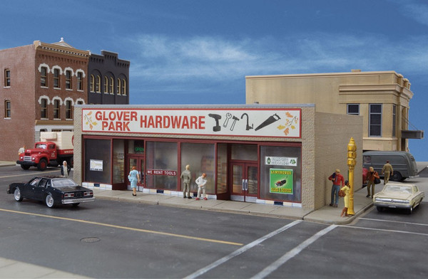 Walthers HO Scale Glover Park Hardware