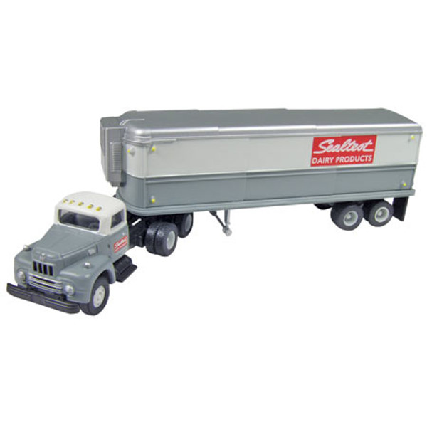 Classic Metal Works  31121 Sealtest Tractor Truck Trailer HO Scale